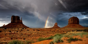 incredible day in monument valley